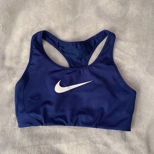 Nike sports bra! Super supportive!!